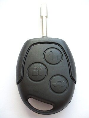 Replacement 3 button key case for Ford Fiesta Focus C Max S Max remote fob