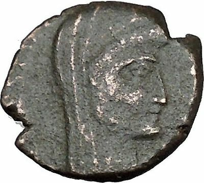 CONSTANTINE I the GREAT 347AD  Ancient Roman Coin Christian Deification  i35645