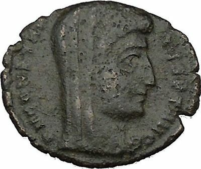 CONSTANTINE I the GREAT 347AD  Ancient Roman Coin Christian Deification  i35710