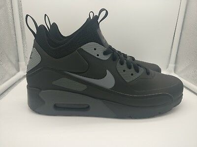 Nike Air Max 90 Ultra Mid Winter Black Cool Grey Anthracite