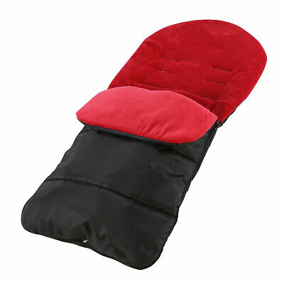 Universal Pushchair Footmuff / Cosy Toes - Festive Red LIMITED STOCK