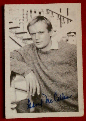 THE MAN FROM UNCLE - David McCallum - Ilya Kuryakin - A & BC Ltd, Card #33, 1965