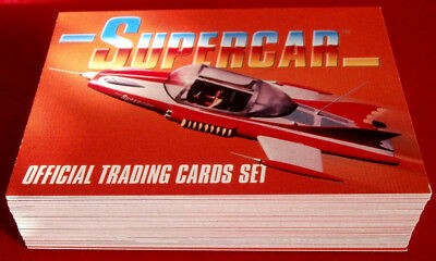 SUPERCAR - COMPLETE BASE SET (54 Cards) issued by Unstoppable Cards 2017