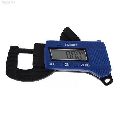 412A Portable Thickness Gauge LCD Display Electronic Tester Meter Digital Tool