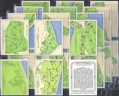 Players-Full Set- Championship Golf Courses (L25 Cards) - Exc