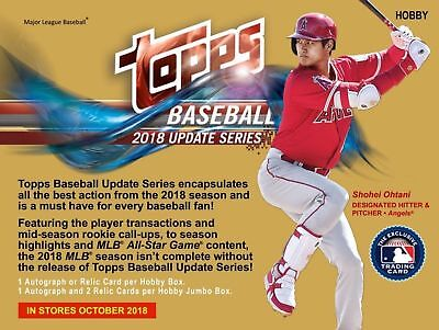 2018 Topps Update Baseball COMPLETE 300 CARD SET - Soto - ROOKIE CARDS INCLUDED!