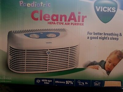 Vicks hepa air purifier v9071E1 (For better breathing & a good night's sleep)