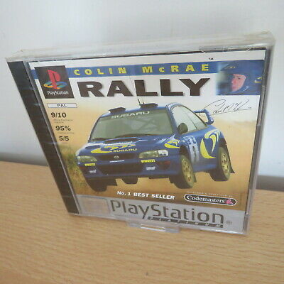 Colin McRae Rally PS1 Factory Sealed  PAL