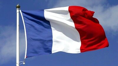 French Flag France Flag Polyester For House Boat Garden Festival Collection Room