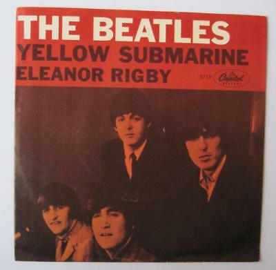 The Beatles - Yellow Submarine / Eleanor Rigby - Vg+ Picture Sleeve Only