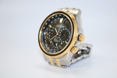 Citizen BU2024-52H Eco-Drive Two Tone Gold/Silver (Stainless Steel) Men's Watch