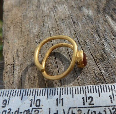 Antique gold ring, Greek Antique  gold  Metal detector finds  100% original