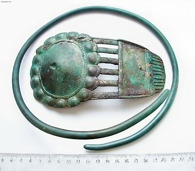 Bronze age Collection of bronze . Metal detector finds  100% original