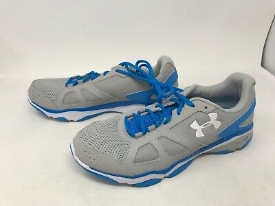 Mens Under Armour (1252360-052) Micro G Strive V Training Shoes (4S)