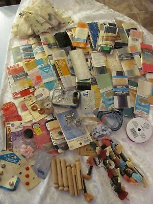 Sewing Notions Vintage Lot Over 80 Items