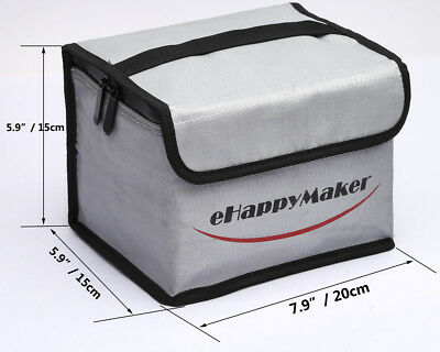 RC LiPo Sack Fireproof RC LiPo Battery Safe Guard Bag Case for Charging Storage