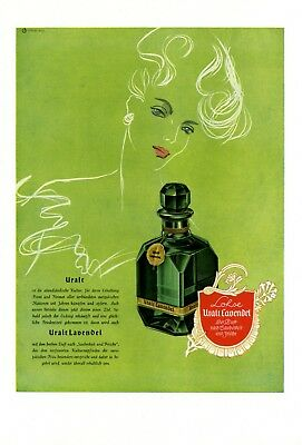 Perfume Lohse Uralt Lavender XL German ad 1944 !! after Endsieg WW 2 advertising