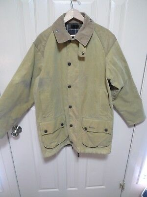 Barbour - A176 Sporting Beaufort Waxed Cotton Jacket- Made In England- Size 38