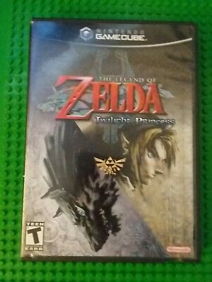 Game Cube Legend Of Zelda Twilight Princess EMPTY CASE ONLY NO GAME