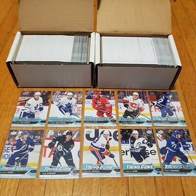 2016-17 UD Complete set with Y. Guns / Portraits / O Pee Chee Update + More