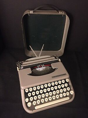 Vintage Tower Chieftan Portable Typewriter Made in England for Sears Roebuck