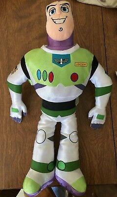 "Disney Store Toy Story 18"" Buzz Light Year Plush Toy Great Condition!"