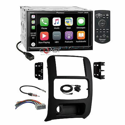 Pioneer 2018 Carplay GPS Ready Stereo Dash Kit Harness for 2002-07 Jeep Liberty