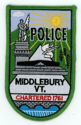 Middlebury Police Vermont Vt Patch Sheriff Colorful