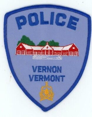 Vernon Vermont Vt Police Patch Sheriff Colorful