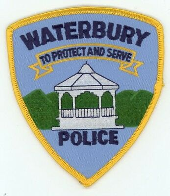 Waterbury Vermont Vt Police Patch Sheriff Colorful