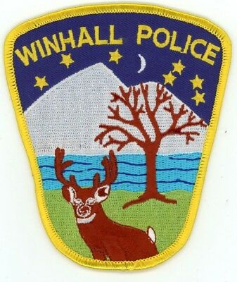 Winhall Vermont Vt Police Patch Sheriff Colorful