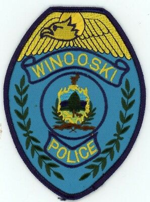 Winooski Vermont Vt Police Patch Sheriff Colorful Style 1
