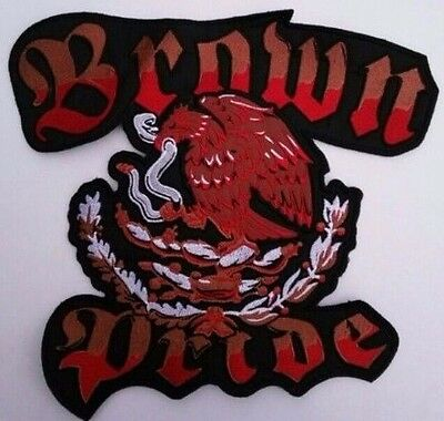 Patch New Mexican Brown Pride (Apx-11 By 12 In)