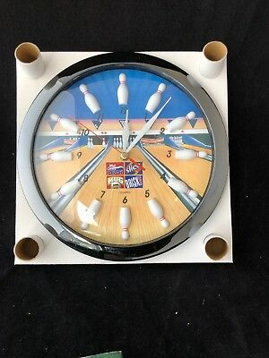 Pepsi Cola Products Bowling Quartz Clock