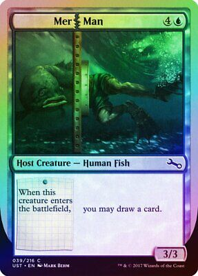 Hydradoodle FOIL Unstable NM-M Green Rare MAGIC THE GATHERING MTG CARD ABUGames