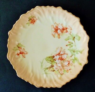 ANTIQUE PORCELAIN CAKE SERVING PLATE display suit FRENCH PROVINCIAL countrydecor