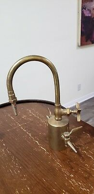 Industrial Brass gas valve Faucet Vintage sink unique water