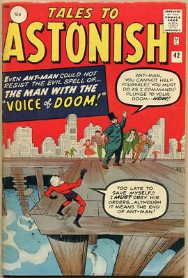 Tales To Astonish #42 - VG/FN