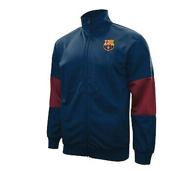 Fc Barcelona Zip Up Hoodie Jacket Track Soccer Adult youth All Sizes  Messi 10 2