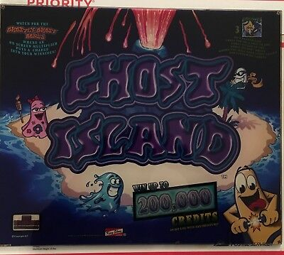 """IGT I-Game Ghost Island 17"""" Square Top Glass Set w/ Software"""