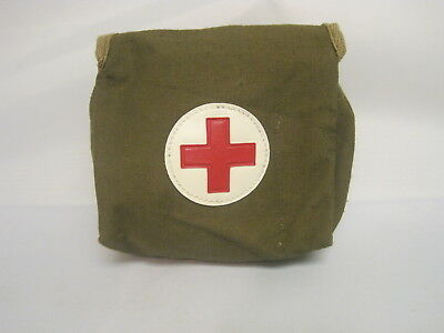 Soviet Russian Army.  Bag for a Belt. Bag of the Medic.