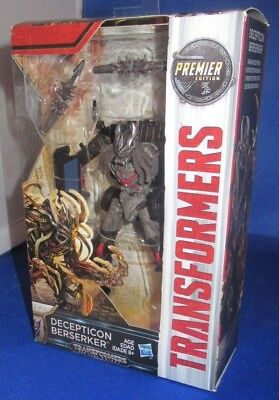Transformers The Last Knight Premier Edition Decepticon Berserker Collectible