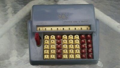 Vintage Chadwick (CMI) Speedee Add A-Matic Adding Machine