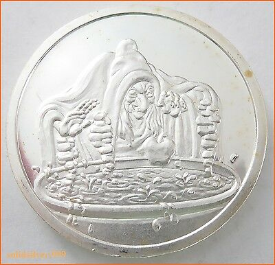 """1 oz .999 Silver """"THE WITCH  SNOW WHITE 50 TH ANNIVERSARY"""" 5163 Art Round/Bar"""