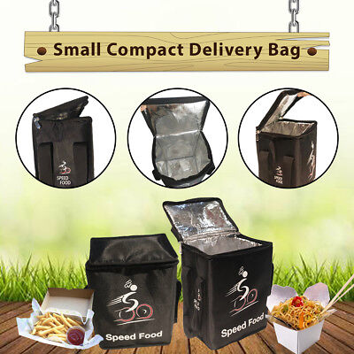 Small Compact Food Delivery Bag Set of 3-Food Carry Bag- Delivery Bag-Speed Food
