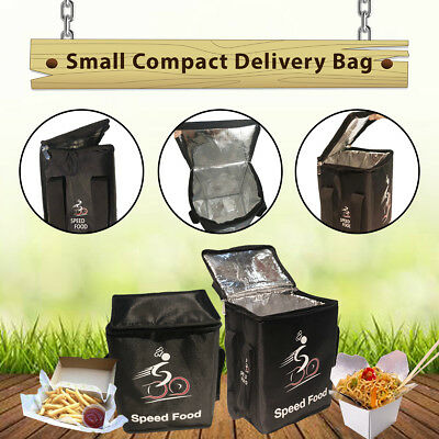 Small Compact Food Delivery Bag Set of 5-Food Carry Bag- Delivery Bag-Speed Food