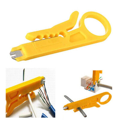 Telephone BT RJ45 Network IDC Cable Insertion Punch Down Tool wire stripper M/&C