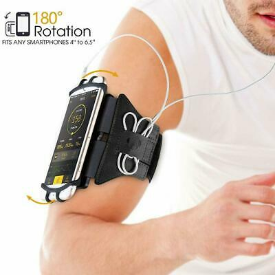 VUP® Running Jogging Gym Bike Armband Case Holder for iPhone XS 8 7 6s Plus 5s