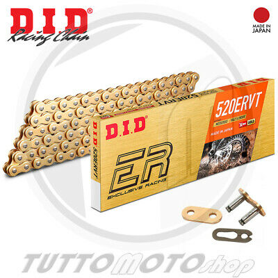 CATENA DID 525VX Gold /& Black G/&B 108 MAGLIE APRILIA RSV 1000 TUONO RACING 2006