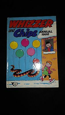 Whizzer And Chips Vintage U.K Comic Annual 1986